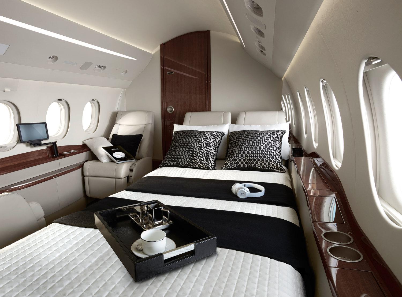 V2 Jets private jet interior