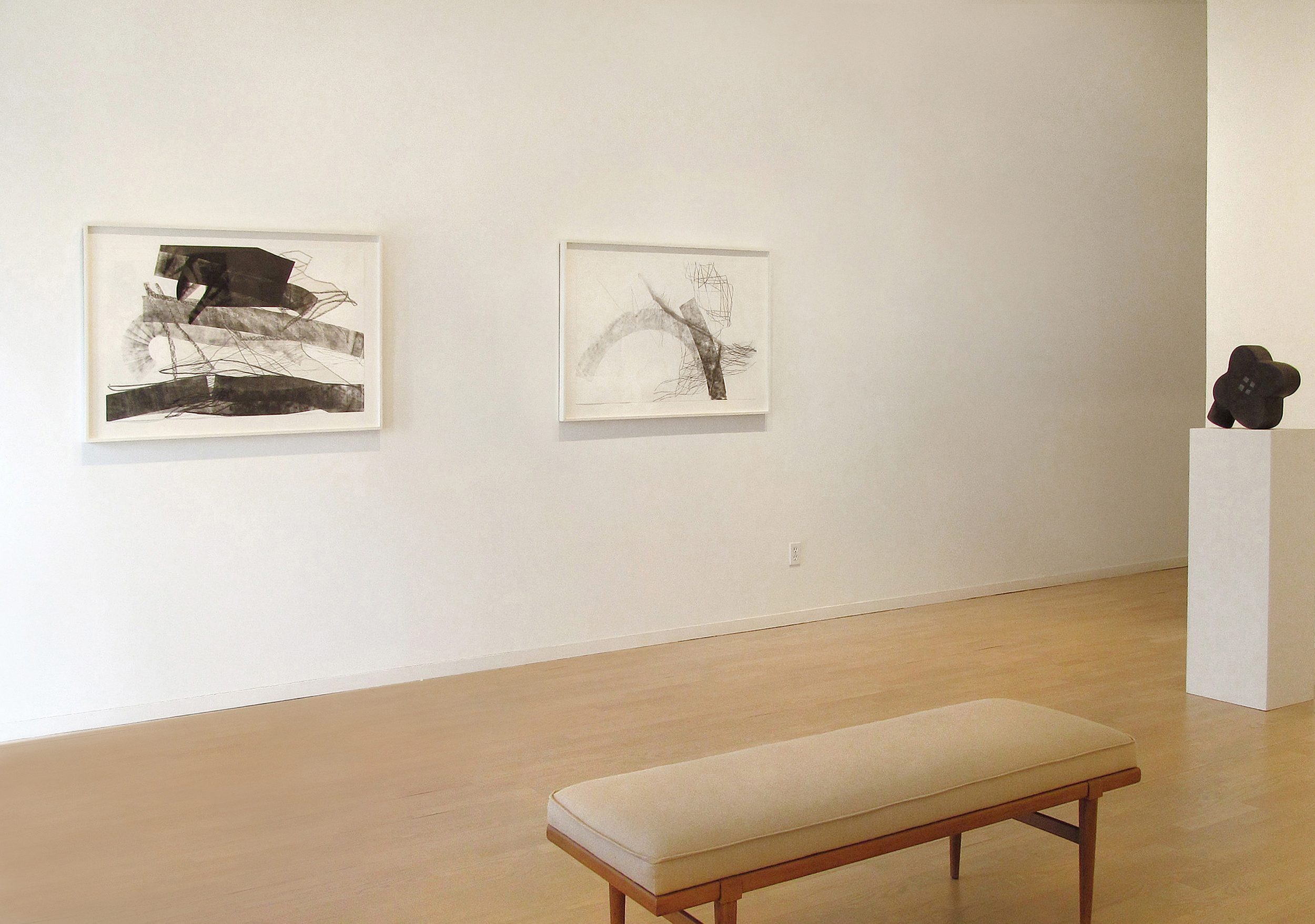 Christine Hiebert: Ten Drawings     The Drawing Room Gallery East Hampton, 2014