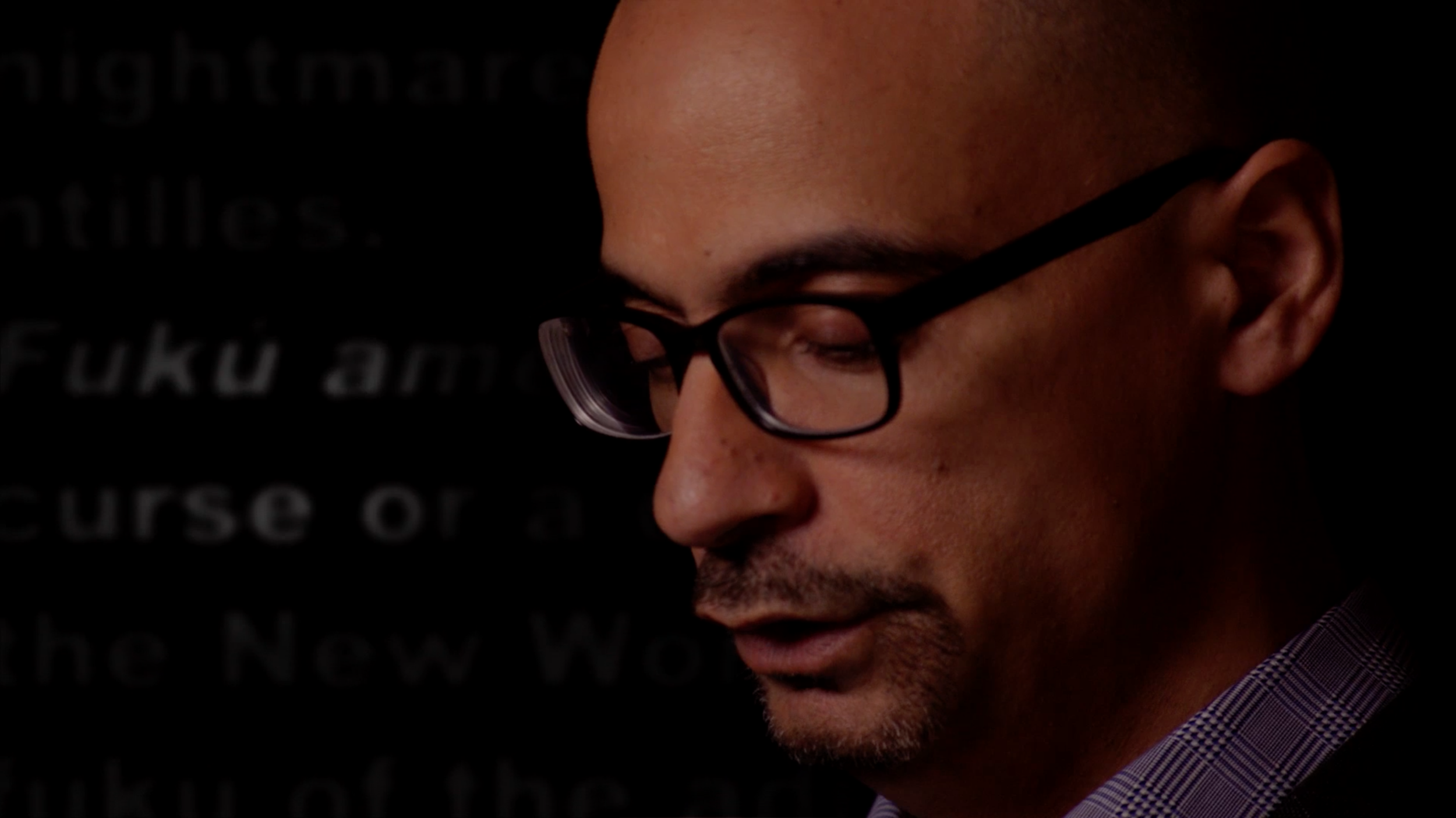 Junot Díaz, author of  The Brief Wondrous Life of Oscar Wao ,Pulitzer Prize for Fiction, 2008