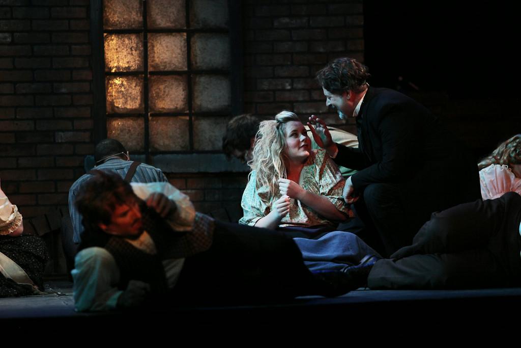 Cassi in  Sweeney Todd at The Carnegie in Cincinnati