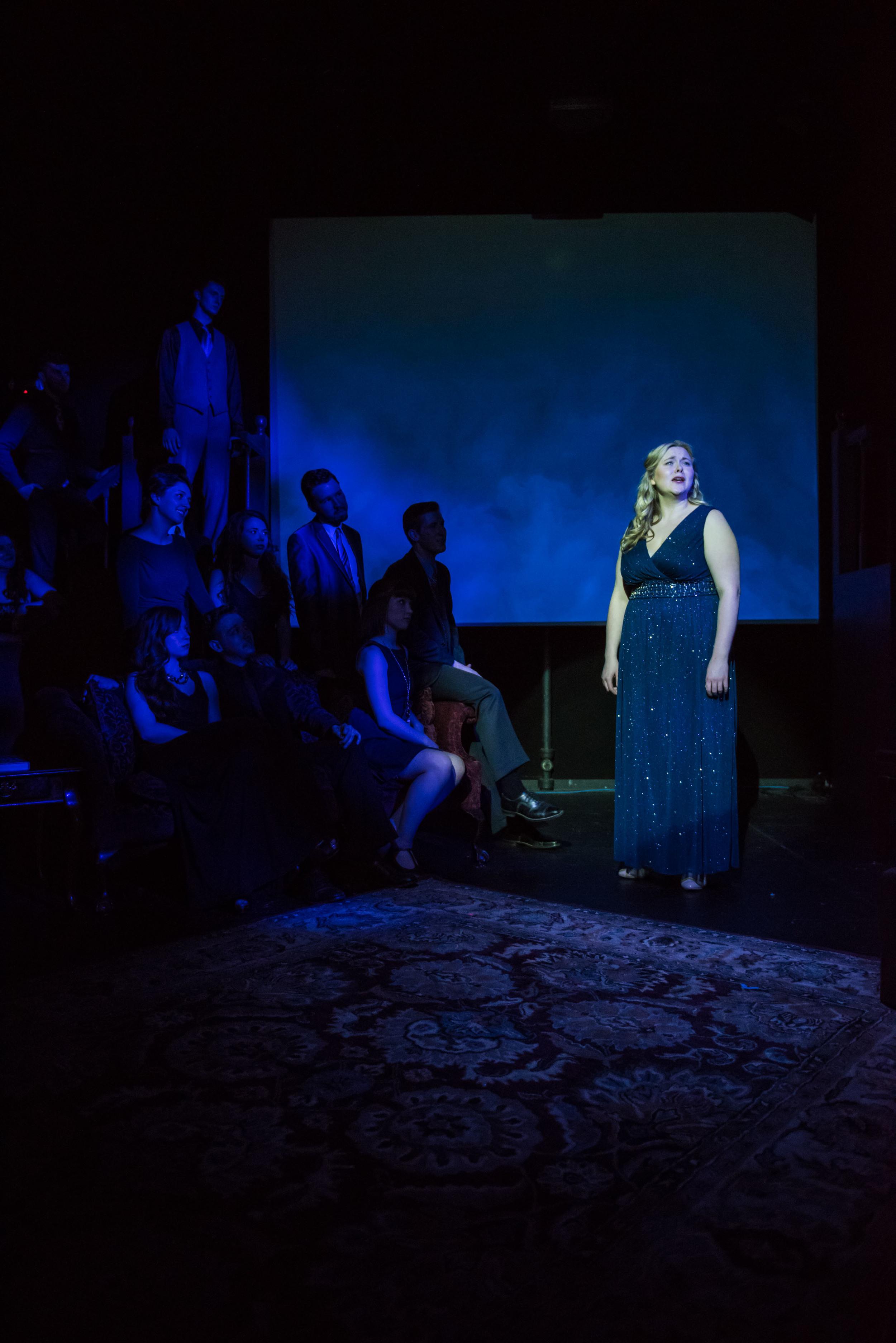 Cassi in Wright State University's production of  Sondheim on Sondheim