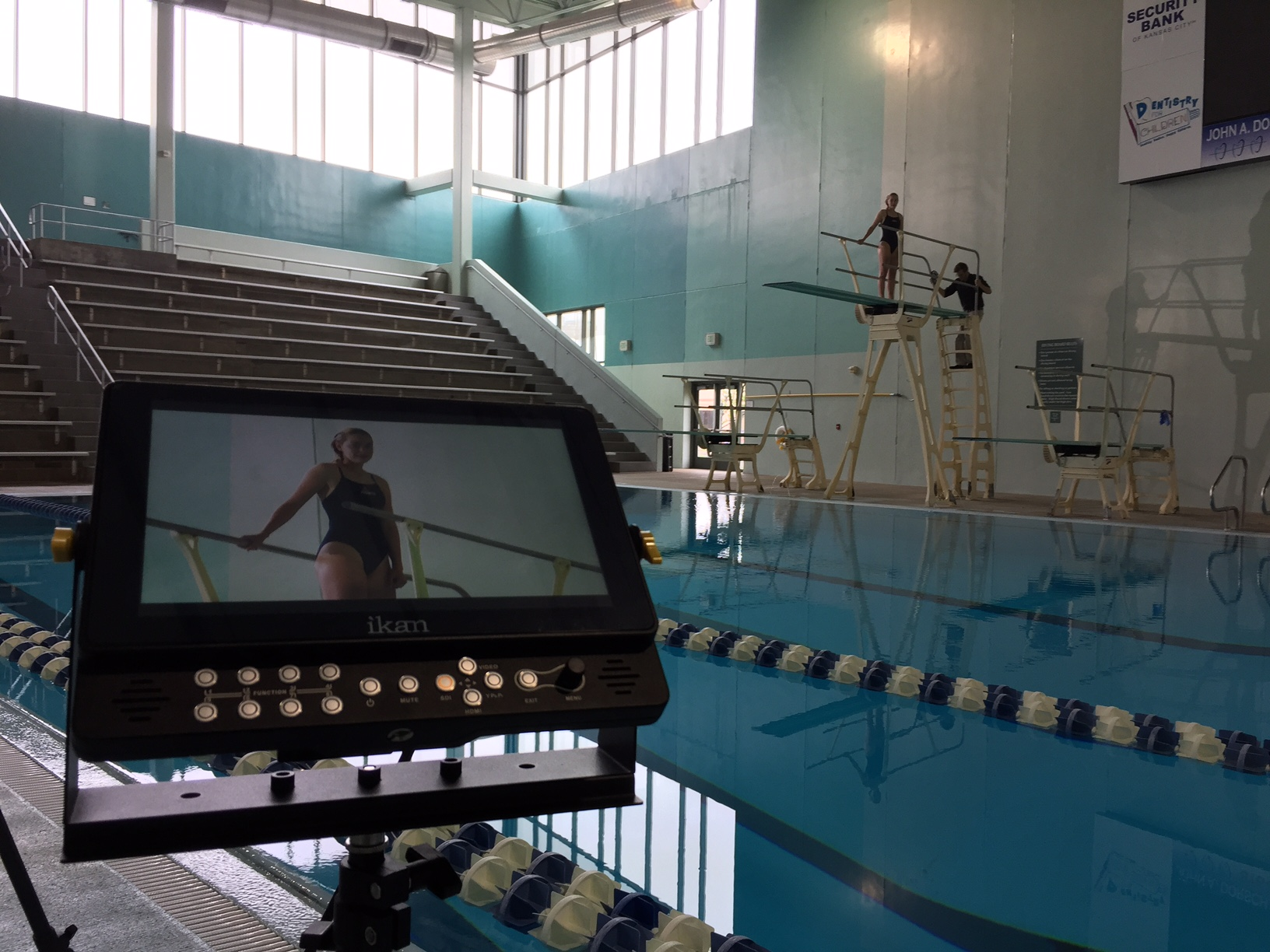 bringing a monitor on a shoot is key, so we or our clients can decide whether our project is top notch or not