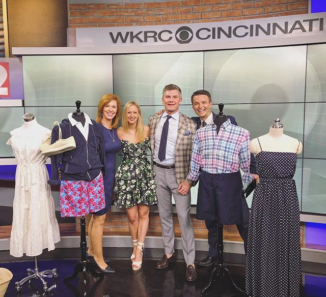 Still looking for the perfect summer outfits? We've teamed up with @ossiehp to showcase our favorite looks of the season! Check us out on Local 12 this morning!