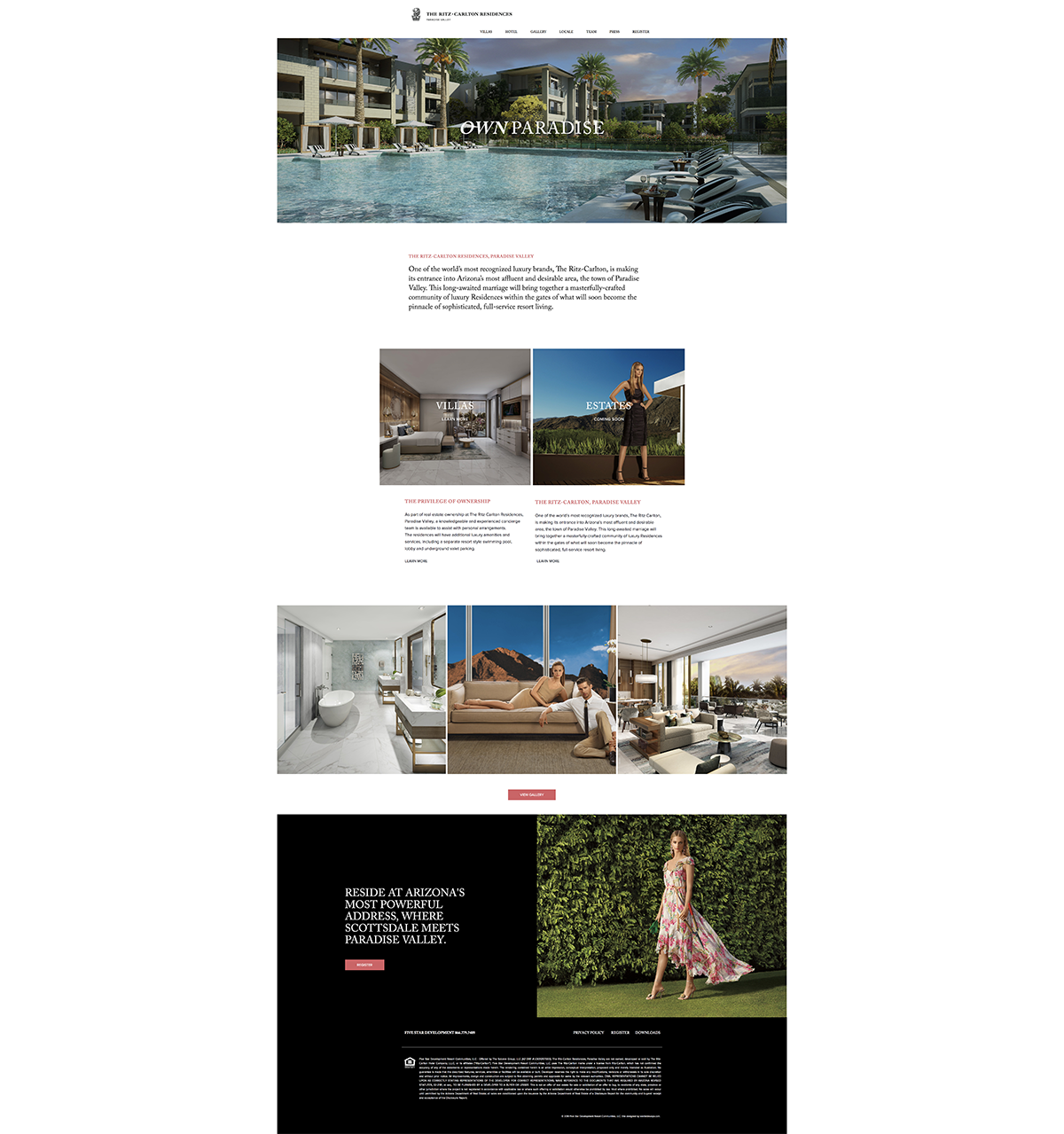 Phoenix Marketing Agency | Ritz-Carlton Paradise Valley