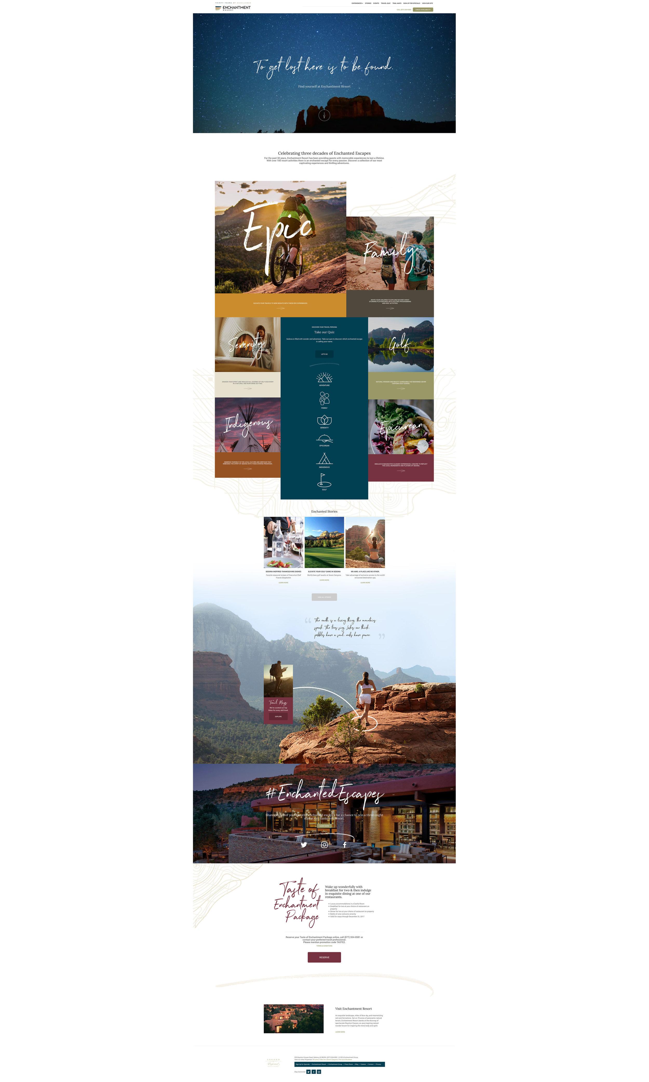 Phoenix Marketing Agency | Enchantment Resort