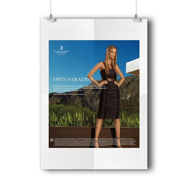We love when we see our work in action, like the advertising campaign we created for The Ritz-Carlton Residences, Paradise Valley.