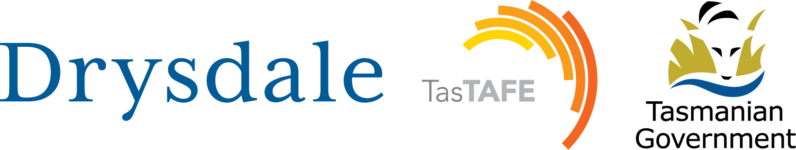 TasTafe logo and Drysdale