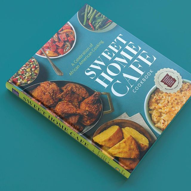 Published last October Sweet Home Cafe is a cookbook for the National Museum of African American History and Culture @nmaahc published by Smithsonian Books @smithsonianbooks. Photos by Scott Suchman @scottsuchman #cookbooks #foodporn #sweethomecafe #smithsonian #bookstagram #cookbookadict #food #cookbookdesign #bestcookbookever