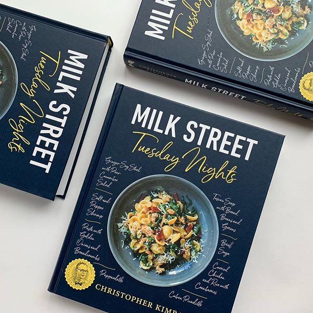 Thrilled to announce that two books designed last year were nominated in the 2019 James Beard Foundation Book Awards. Milk Street Tuesday Nights and Sweet Home Cafe Cookbook. #jbfa #milkstreettuesdaynights #milkstreet #hachette #sweethomecafecookbook #smithsonianbooks #nmaahc