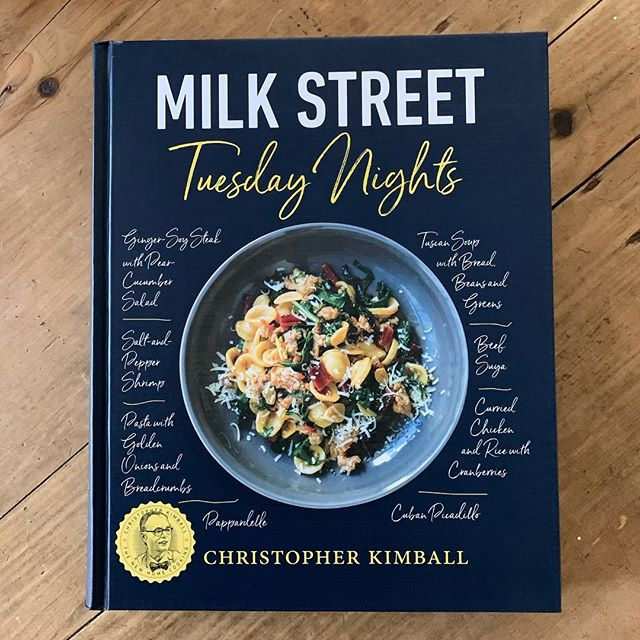 Pleased to announce that Milk Street Tuesday Nights won the James Beard Foundation Book Award in the 'general everyday' category. Designed last year with the teams at Milk Street and Little  Brown. #jbfa #milkstreet #littlebrown #cookbook #cookbooks #cookbookstagram 🏆👏