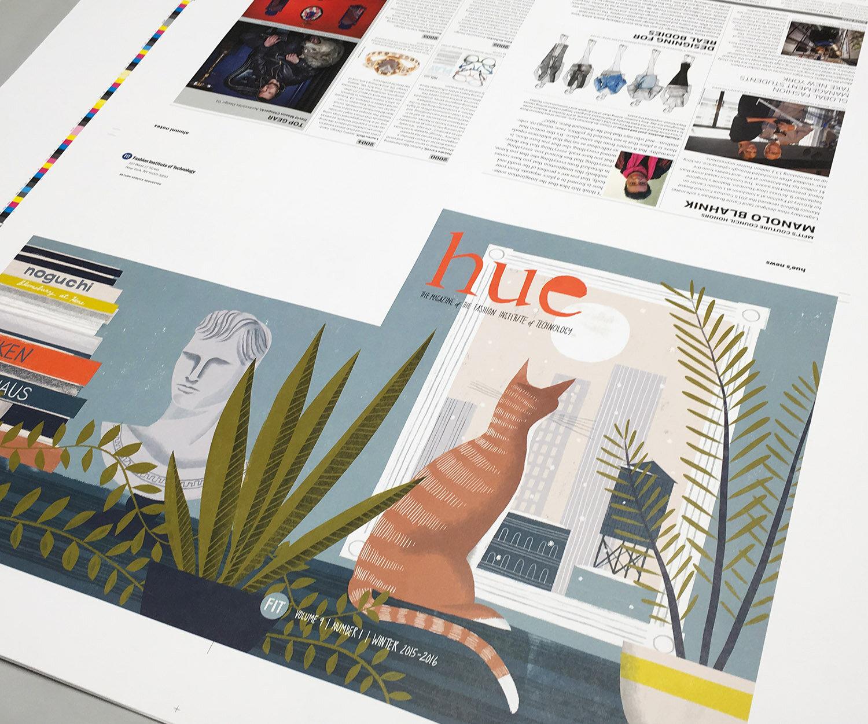 Press sheet, featuring Sam Kalda illustration