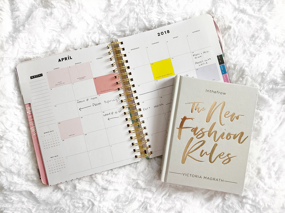 Bando 2018 Planner & The New Fashion Rules by In The Frow