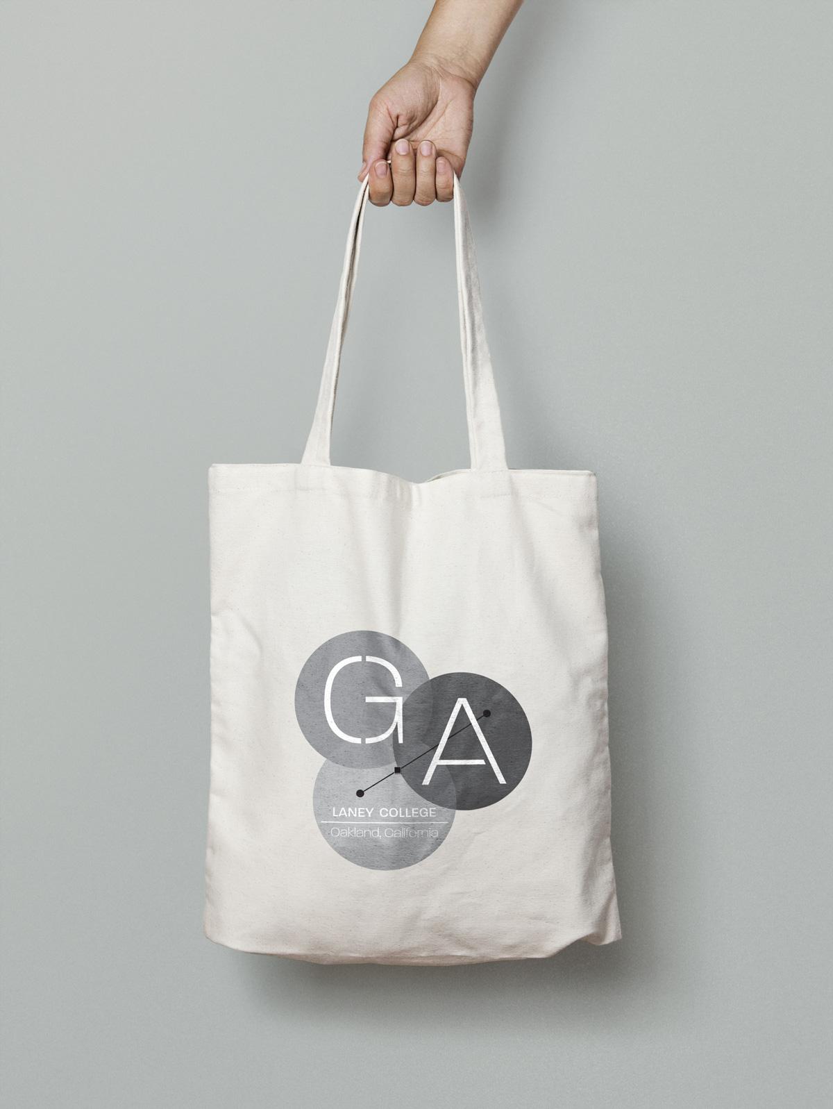 brand identity canvas tote bag design