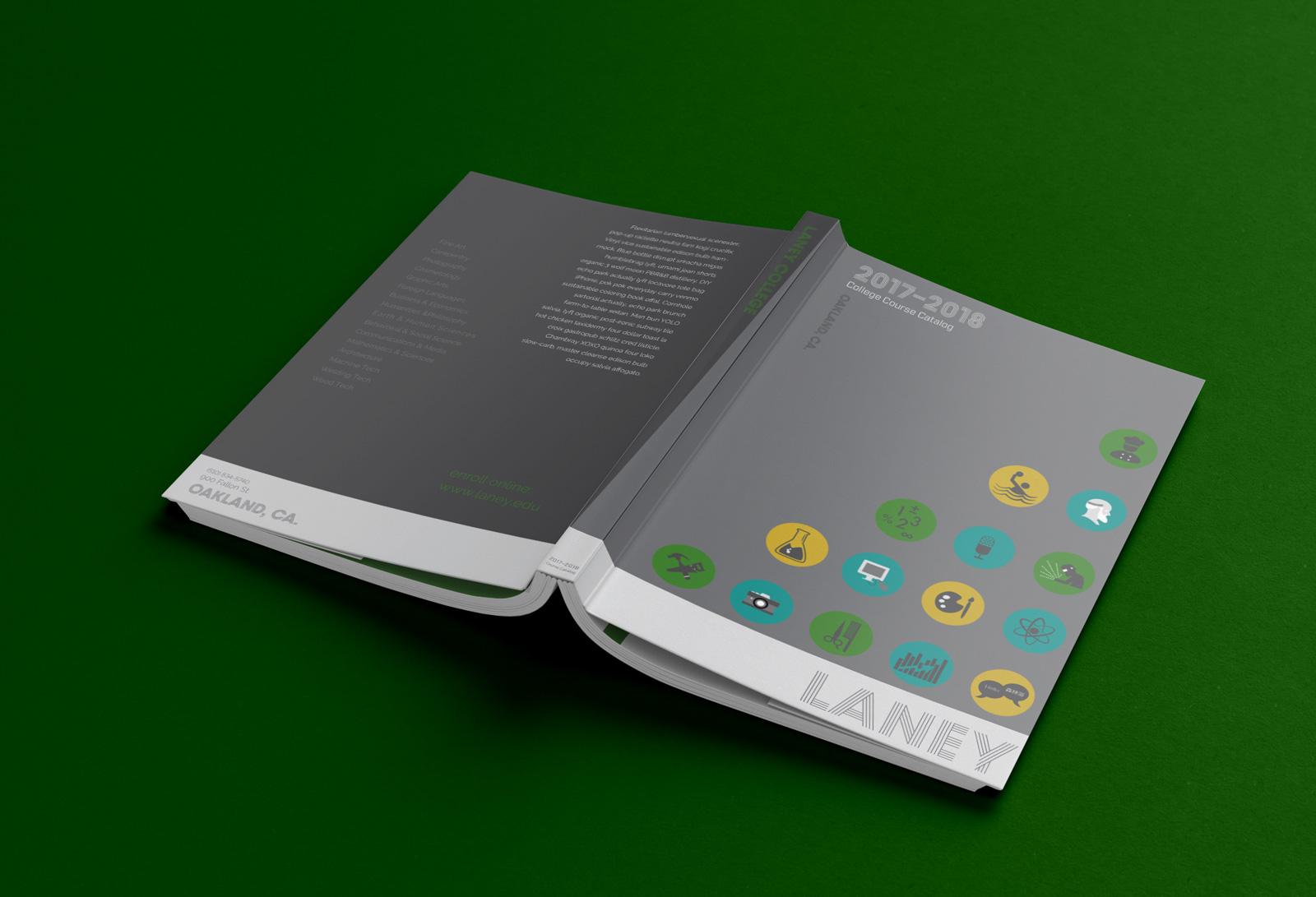 book cover catalog design