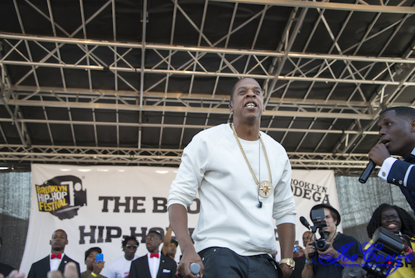Jay-Z at The Brooklyn Hip-Hop Festival