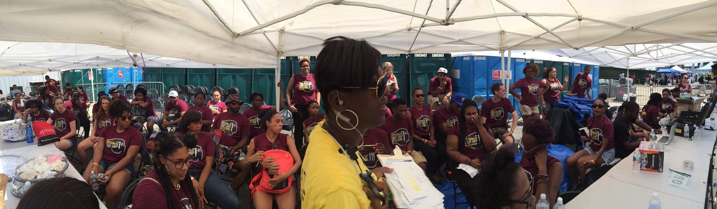Eb addresses volunteers.JPG