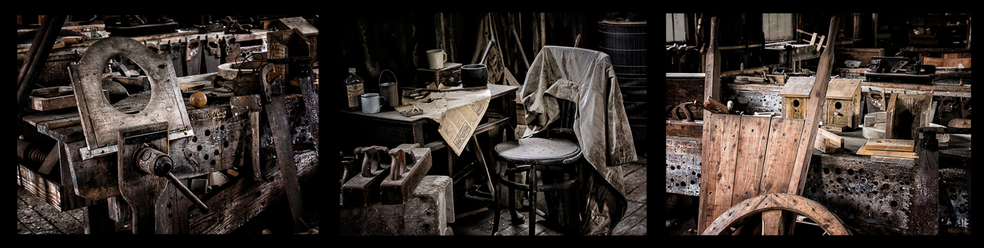 "Highly Commended. Janet Downes ""The Workshop"""