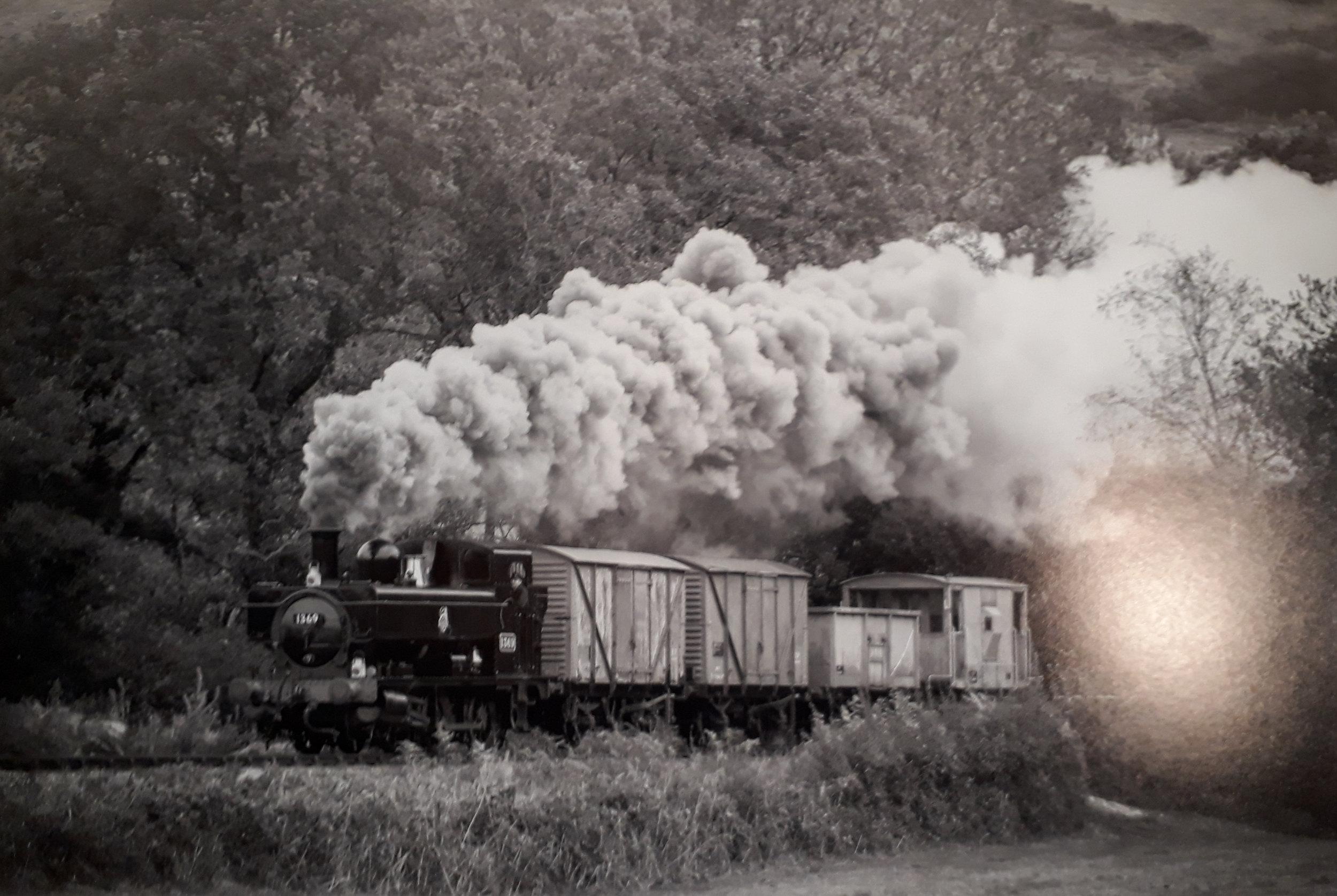"HC. James Moore - ""Train"""