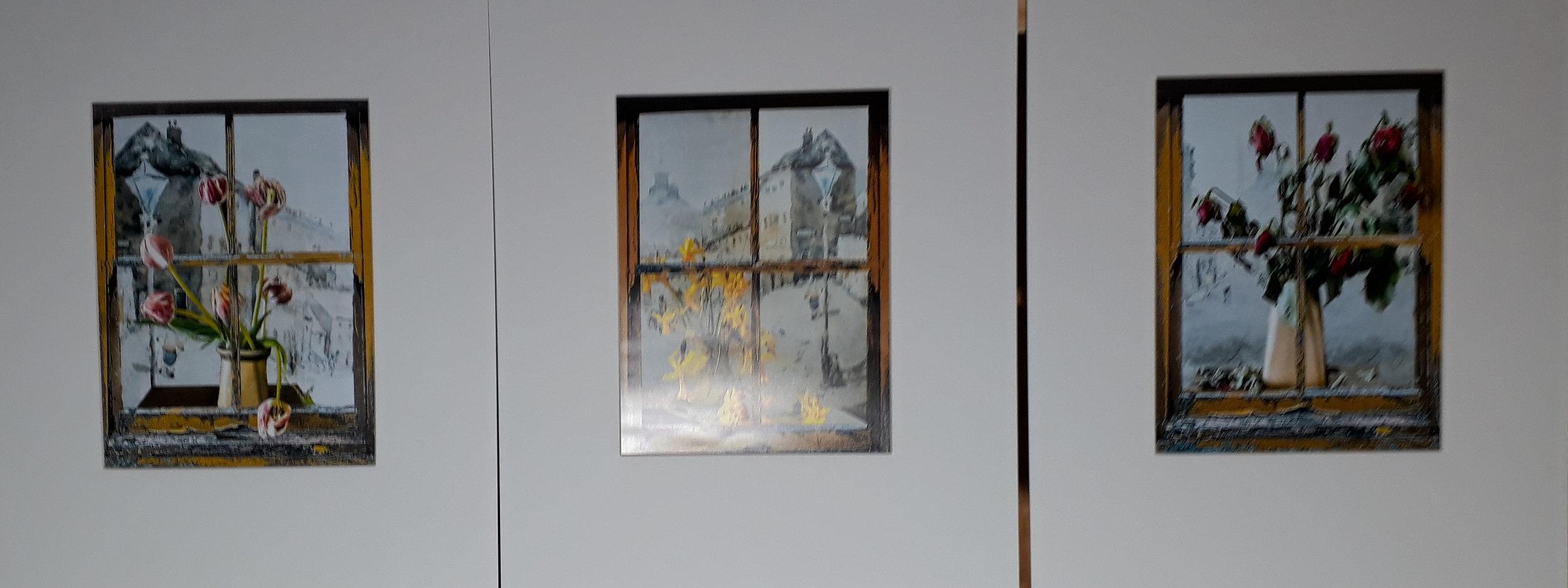 1 - Fading Flowers in the Window - Bill Mamatt