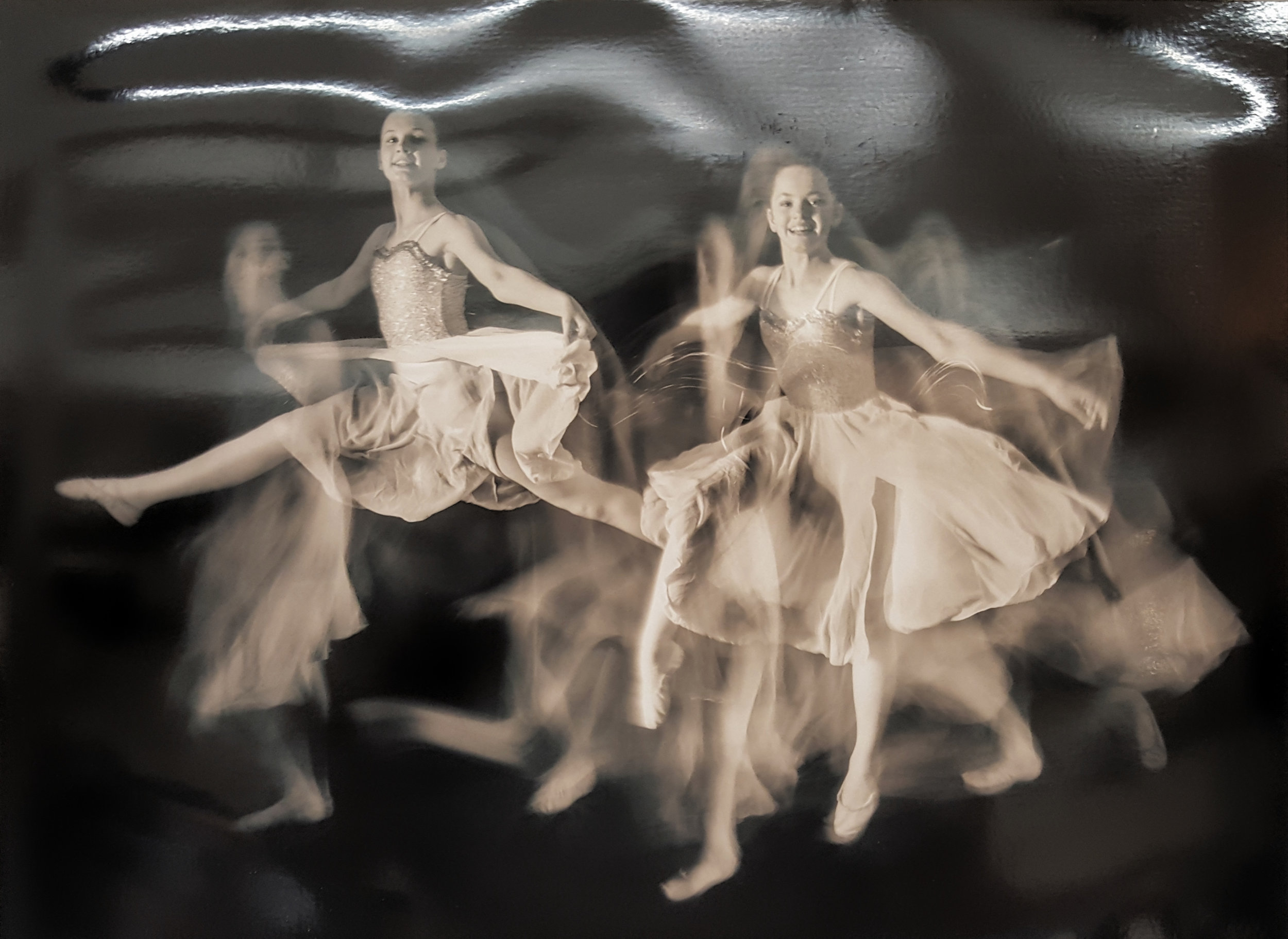 "1. ""Dancing Ballerinas"" Richard Lawrence"