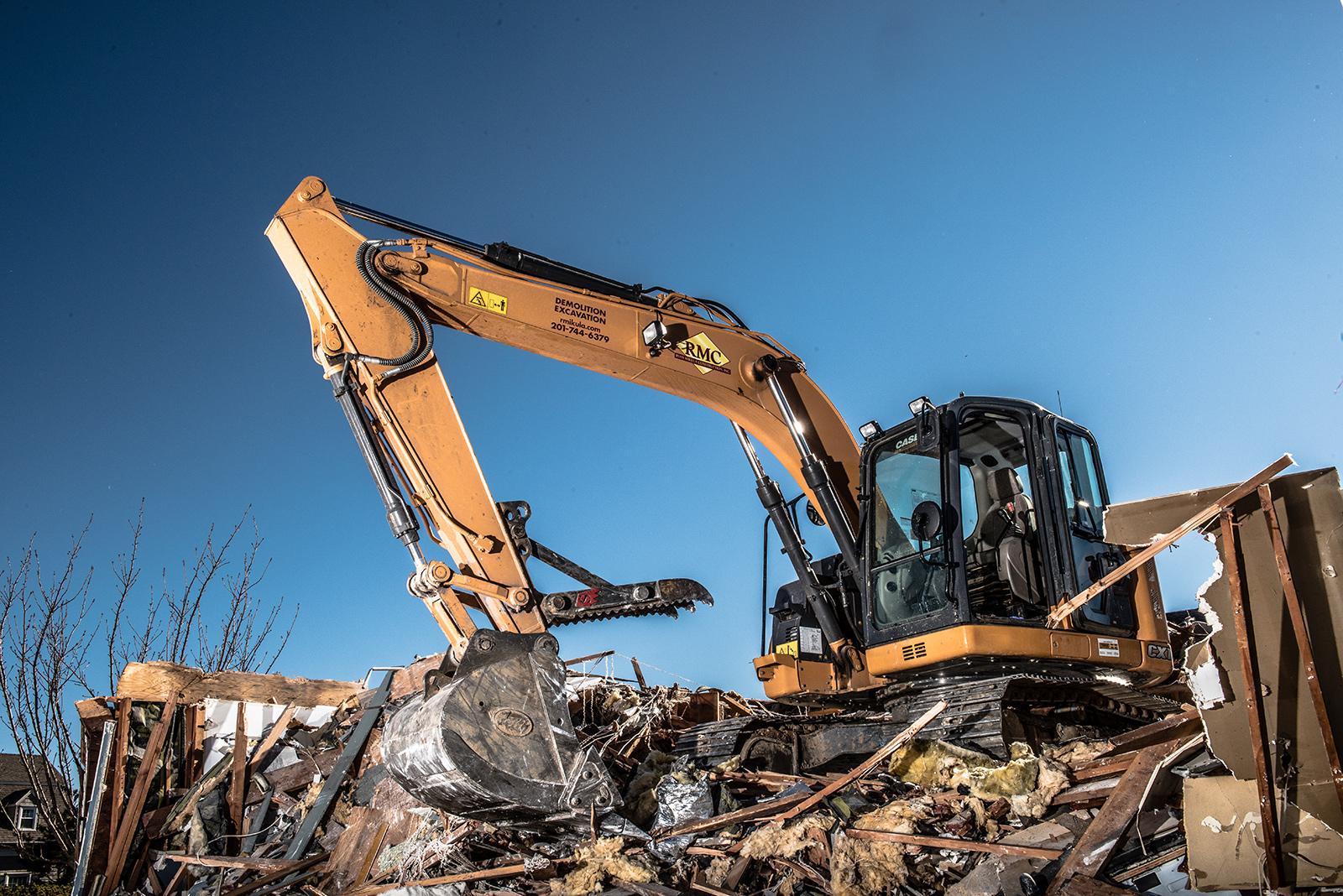 New Jersey demolition business; website photos; Industrial Photography Landmark Image Group, David Lau