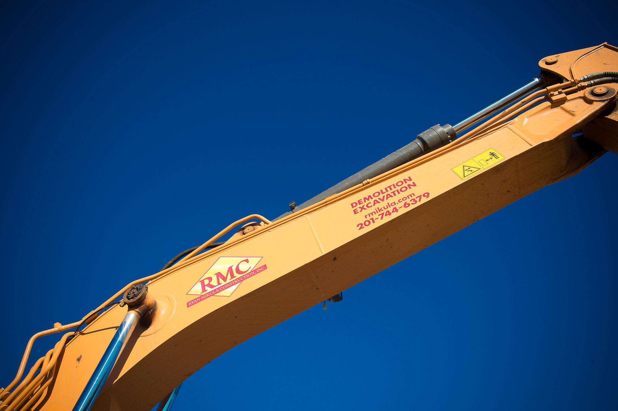 New Jersey demolition business; website photos; Industrial PhotographyLandmark Image Group, David Lau