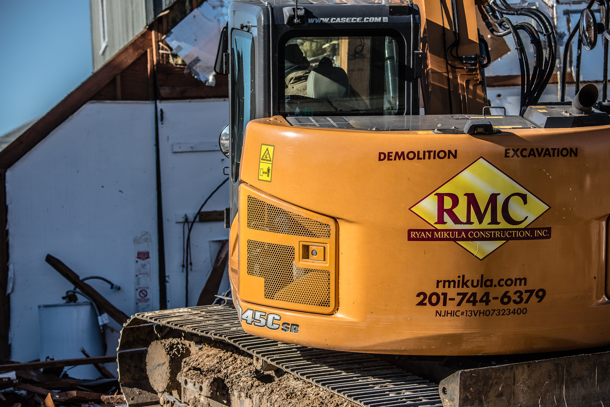 New Jersey demolition business; website photos; Landmark Image Group, David Lau