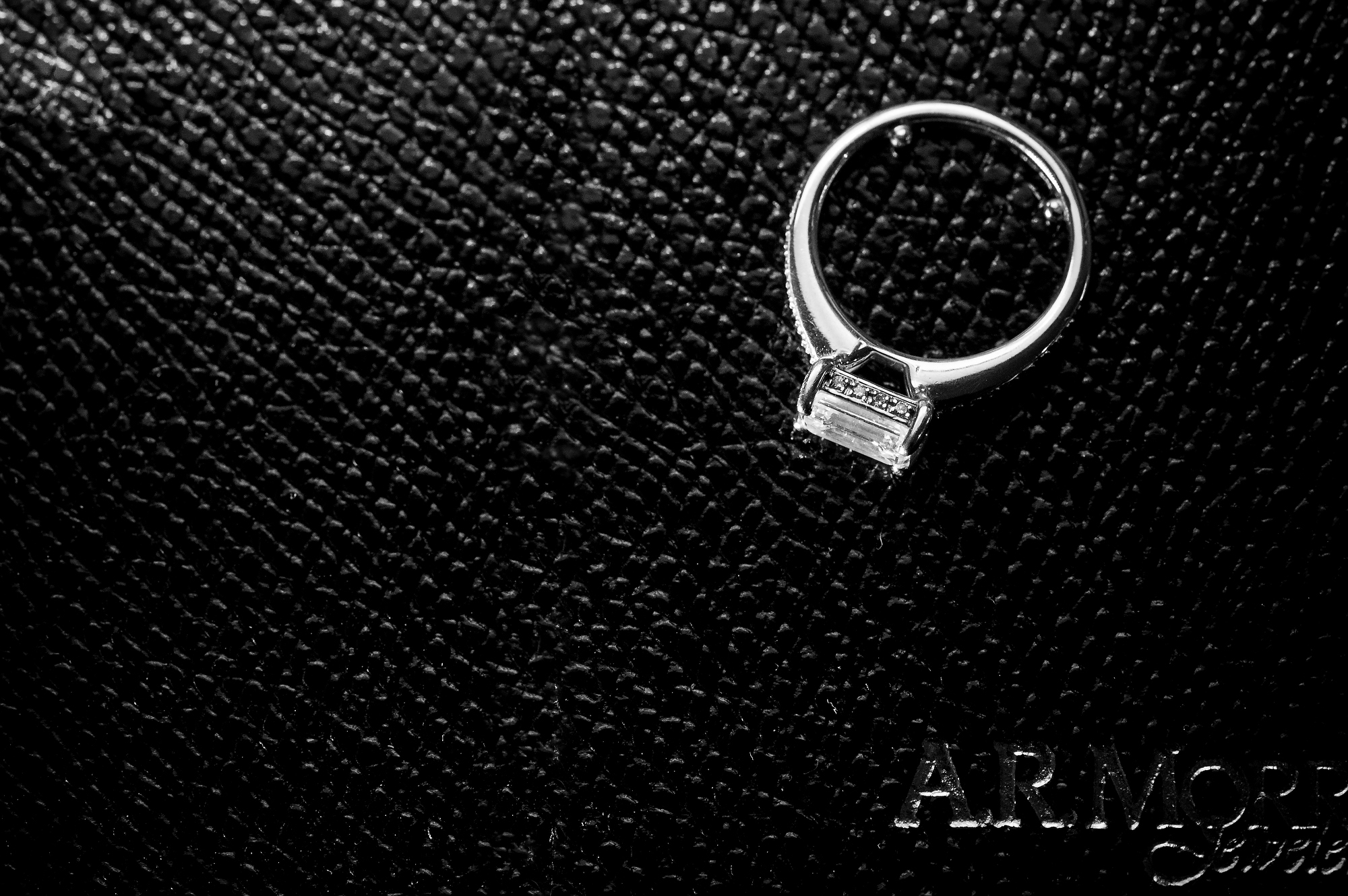 New Jersey Jewelry Photographer. Diamond engagement ring photoshoot. Creative Commercial Photographer.Landmark Image Group, LLC. David Lau