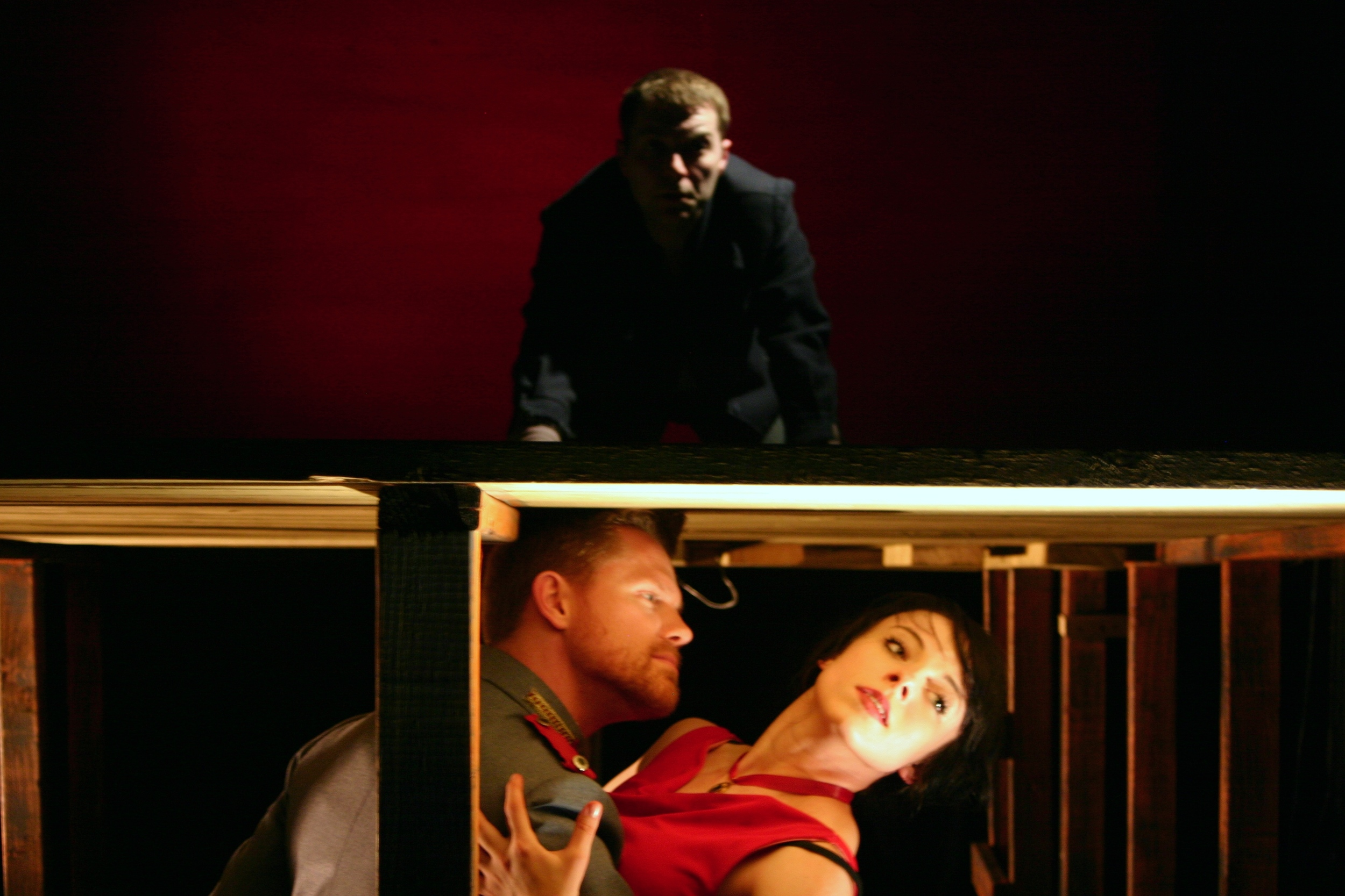 Woyzeck,  Oracle Theatre, 2011 Photo Credit: Ben Fuchsen, Scenic Design: James Ogden, Costume Design: Joan Pritchard