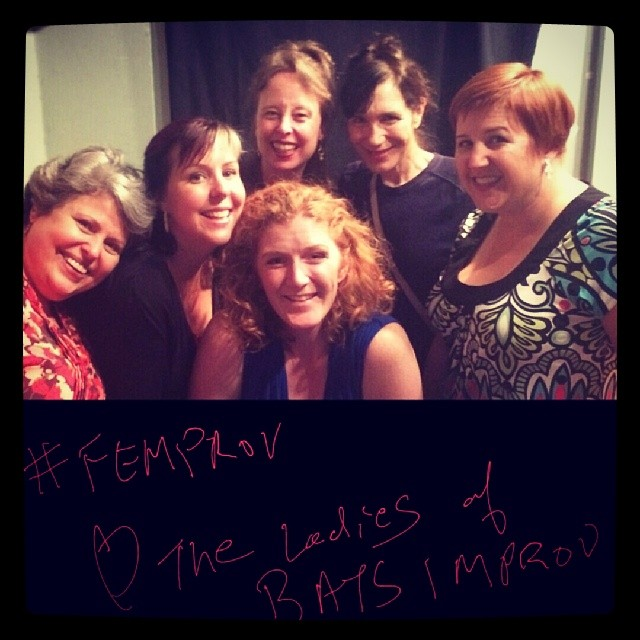 The Ladies of BATS Improv