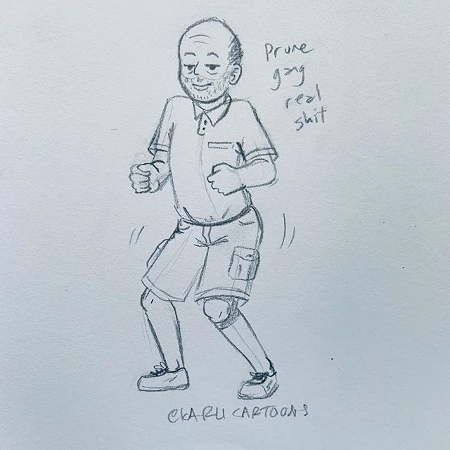 Prune gang real shit! I love it when Spaceboy makes Melbert do that old man dance #karlicartoons #melbertrickenbacker #prunegangrealshit #doodle #dance #gtav #grandtheftauto #funny #traditionalart