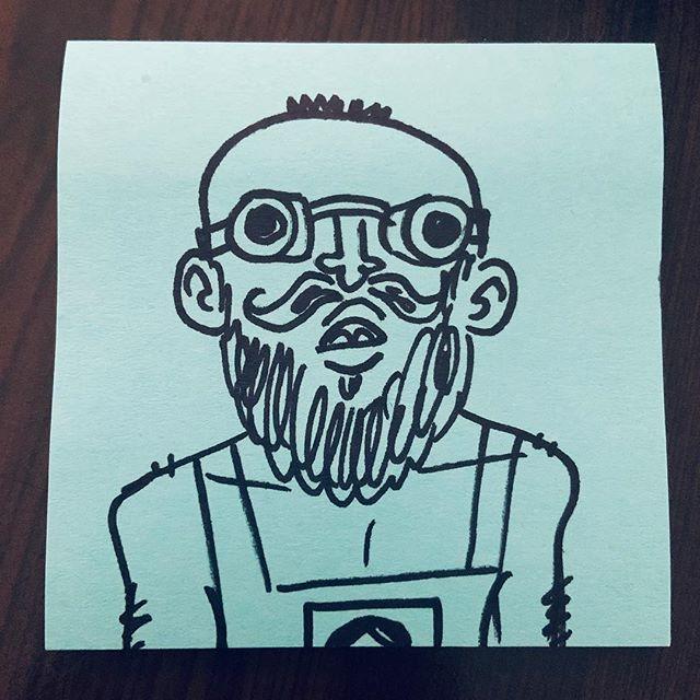 My friend @josiah_clements dressed up as Spongebob for my birthday party so I drew him #karlicartoons #spongebob #minion #cosplay #birthday #ayeayecaptain #doodle #amazing #funny #hilarious #traditionalart #sharpie #doodle #cartoon