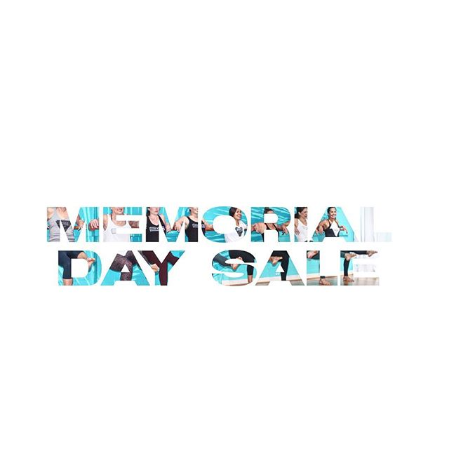 Kickin' the summer off with this Jump into June Memorial Day special! Deals on unlimited, 10 Class pack, and 5 class pack! Check your mindbody app to get your special deals! #saleoftheseason