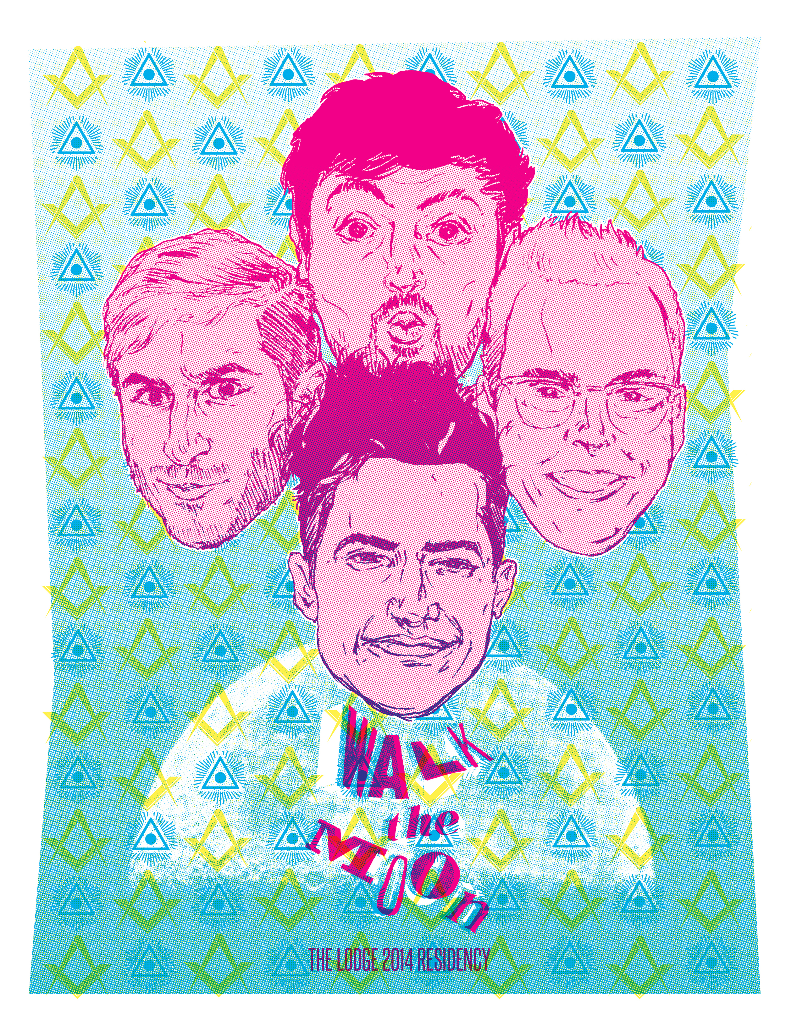 Lodge Artist Residency 2014: Walk the Moon