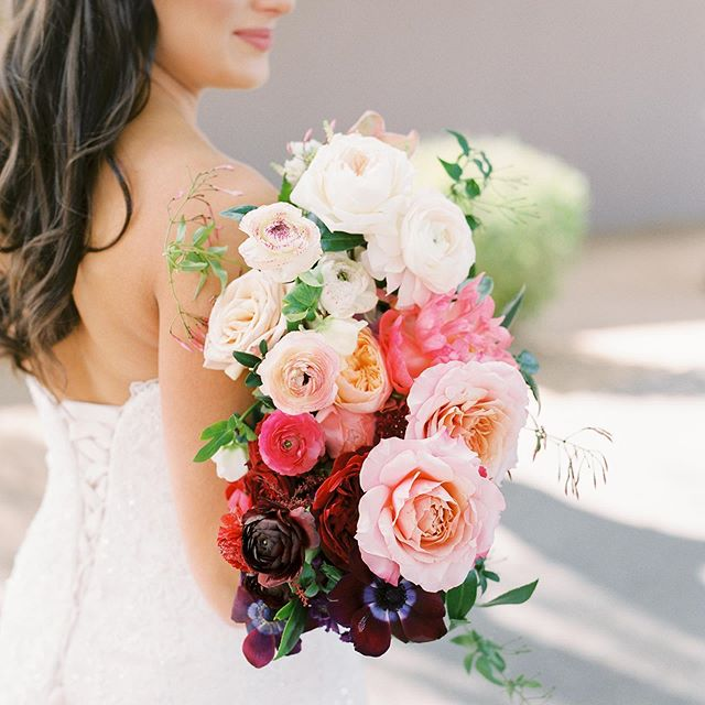 our bride wanted an ombré floral scheme of saturated blushes, pinks, and plums. so grateful to work with such an amazing team. @konsideritdoneweddings is so talented and hard working. missing this february magic. Featured on @caratsandcake this week! Planners & Designers:Konsider It Done@konsideritdoneweddings Venue:Grayhawk Golf Club@grayhawkgolfclub Photographer:Tasha Brady Photography@tashabradyphoto Florist:The Wildflower AZ@thewildfloweraz Videographer:Serendipity Cinematography@serendipitycinema Rentals:Event Rents@eventrentsaz / Prim Rentals@primrentals Linens:BBJ@bbjlinens Drapery:Quest Events@quest_events DJ:Ryan Ingram@dadsthatdance Cake & Cookies:aBakeshop@abakeshop Photobooth:Modern West Photobooth@modernwestphoto Paper Goods:Minted@minted /@mintedweddings Hand Lettering:Side Note@_sidenote Wedding Dress Shop:Lilian Lottie Bridal@lilianlottiebridal Wedding Dress Designer:Maggie Sottero@maggiesotterodesigns Bridesmaids Dresses:Bill Levkoff@billlevkoff Groom's Suit:Suit Supply@suitsupply Groomsmen Suits:Men's Wearhouse@menswearhouse Hair & Makeup:Glam & Glow @glamandglowaz Transportation:LUX Transportation@luxtransportationaz / Roscoe & Louie @roscoeandlouie Bride & Groom:Alexa@alexa_victoria / Blake@directed.by.blake