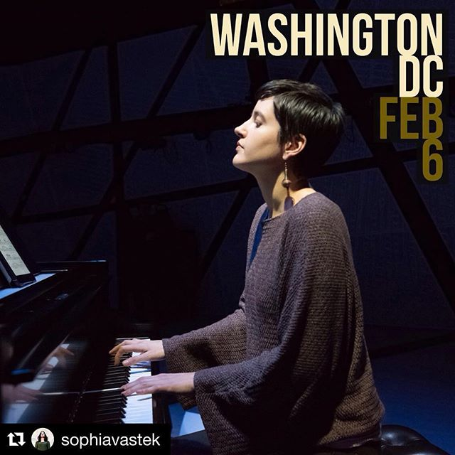 Catch our pianist @sophiavastek in DC! #Repost @sophiavastek with @get_repost ・・・ 2 weeks from today! - I'm super excited to be performing in my hometown on the #tuesdayconcertseries at @churchoftheepiphanydc on Feb. 6.  I'll be performing some of my absolute favorites, including music by @reenaesmailcomposer, John Cage, Asha Srinivasan, and a few works from my album by Michael Harrison (have a listen through the link in my bio). Concert is at 12 noon for the downtown lunch crowd, and YOU!  Hope to see you there. 📷: @jillsteinbergphotography