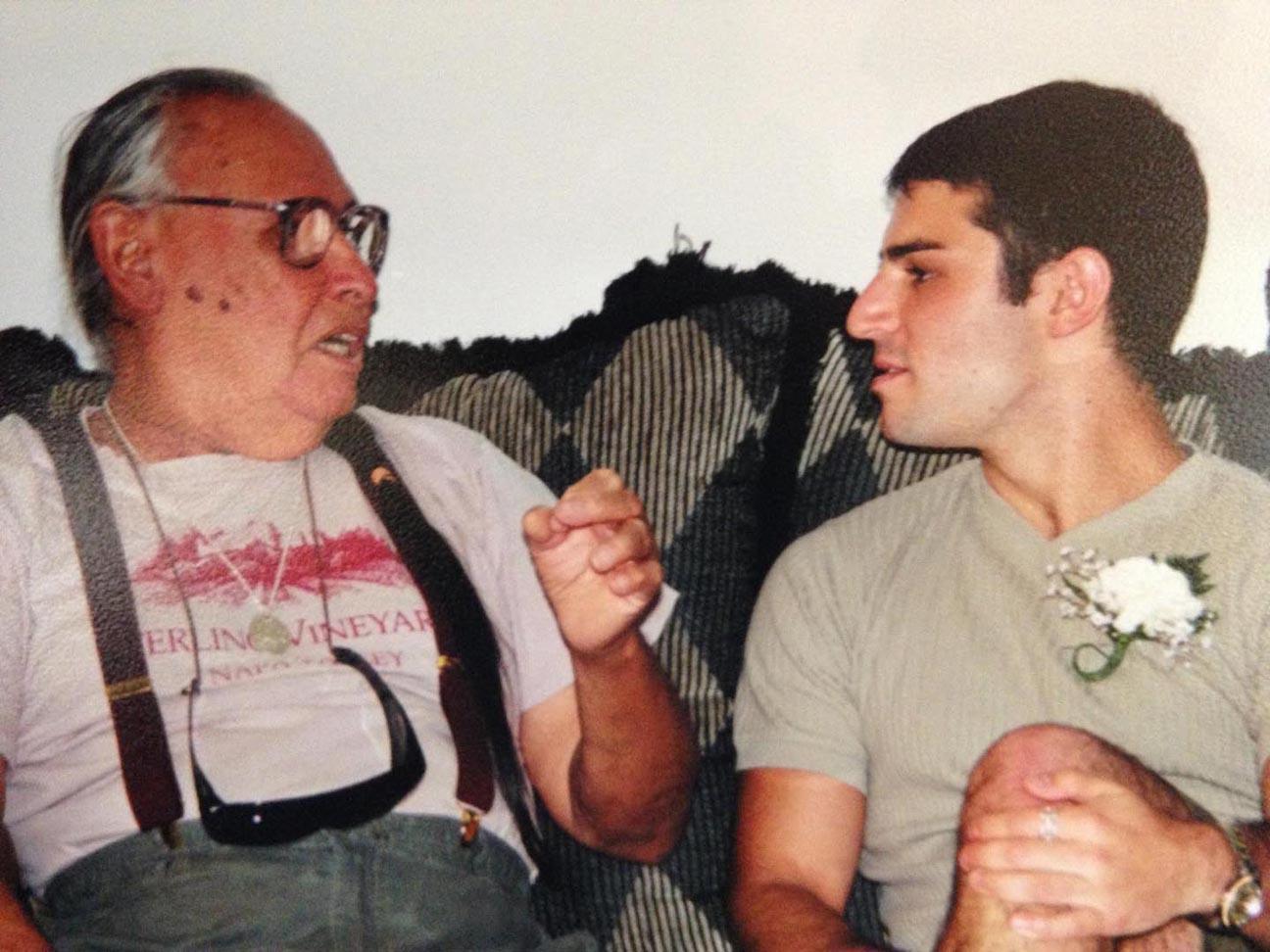 """Frank """"Frankie"""" Perez and founder Tony Perrin"""