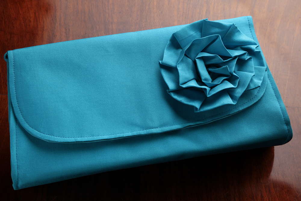 Flower Clutches with Strap