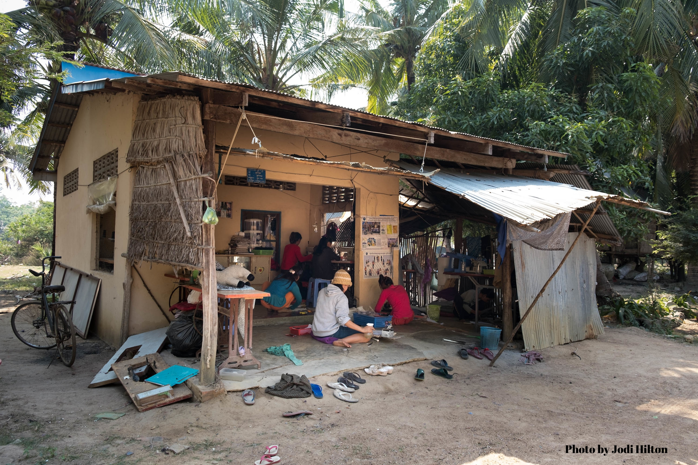 Red Dirt Road workshop for the last six year in saly's family home