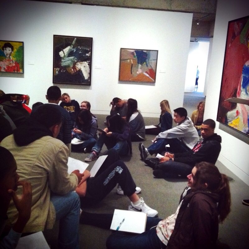 Student field trip to Oakland Museum of California