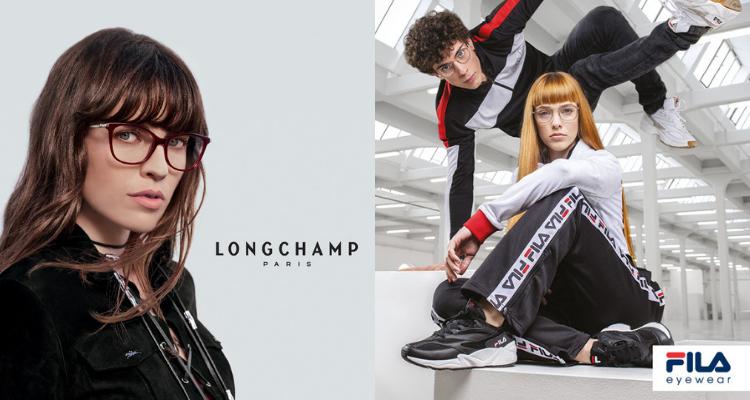 Longchamp and Fila