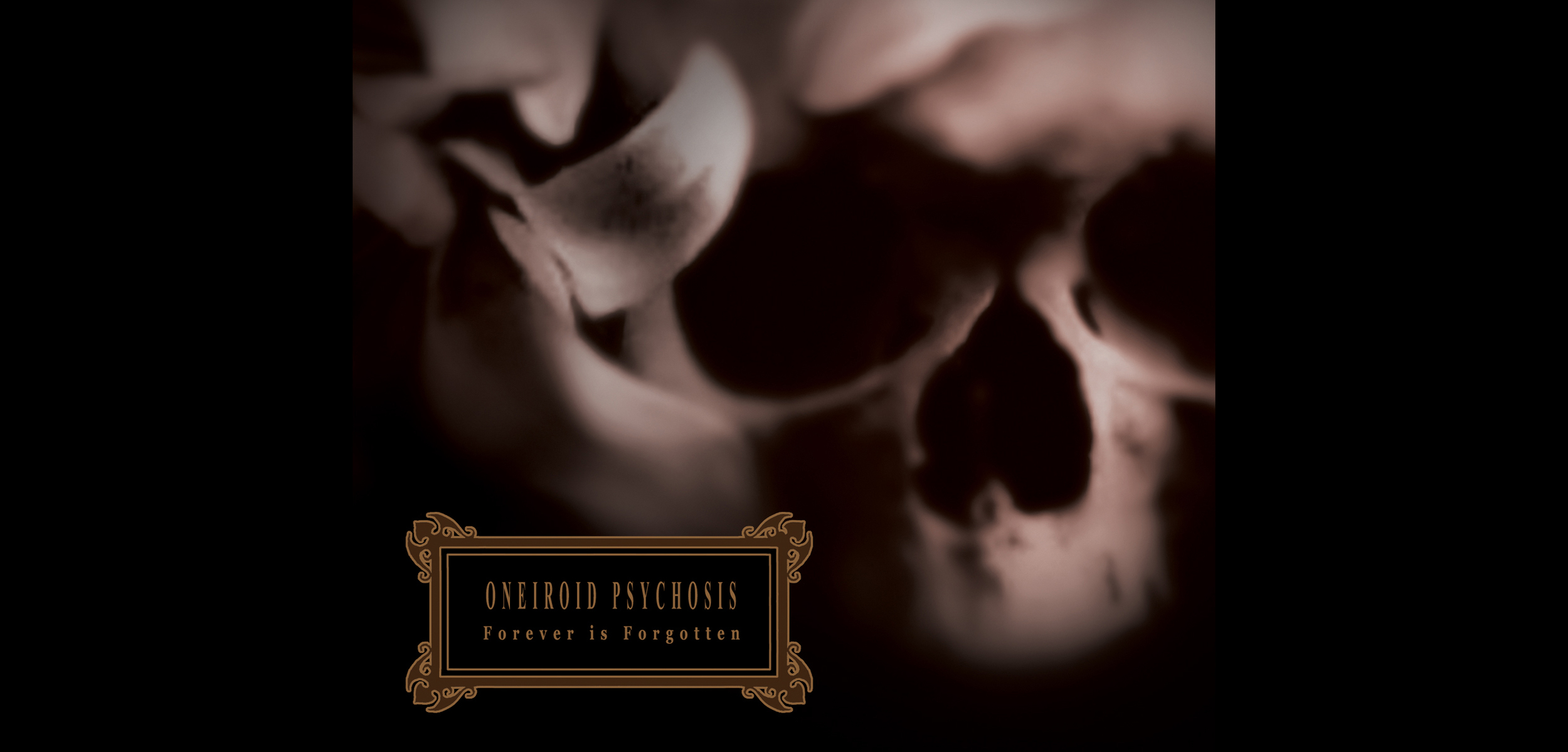 Oneiroid Psychosis,  Forever is Forgotten . Digipak cover . 2004. Photographic illustration, Pen and ink. Released by Cop International.