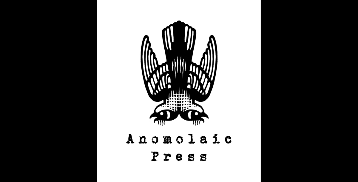 Anomolaic Press Logo .  2014. Pen and ink, Scratch board.