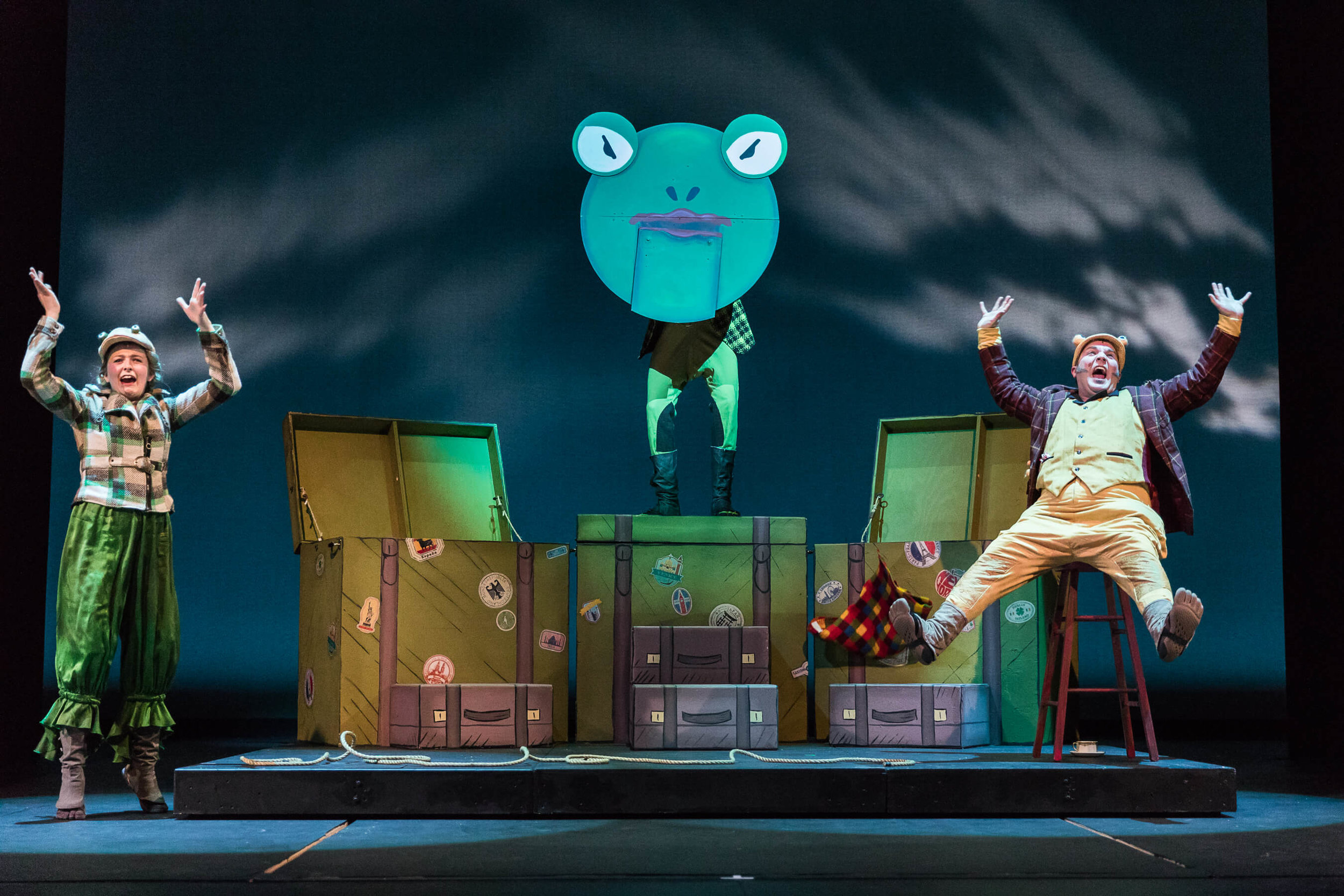 A Year With Frog & Toad . Photo by Owen Carey.
