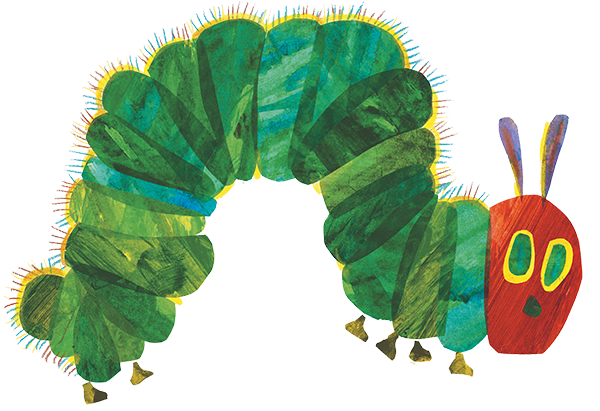 Illustration by Eric Carle.