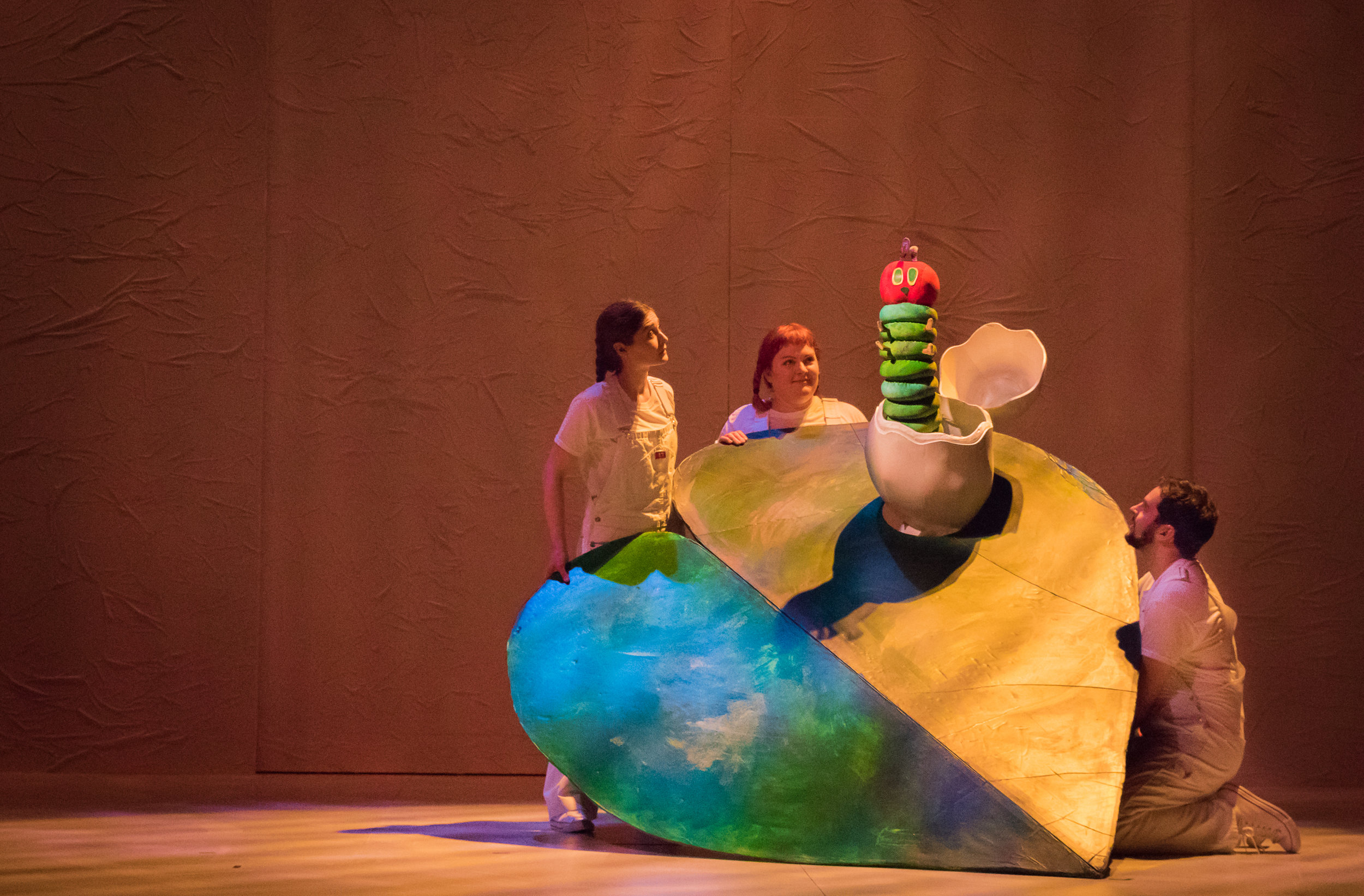 The Very Hungry Caterpillar Show (2018).  Photos by Owen Carey.