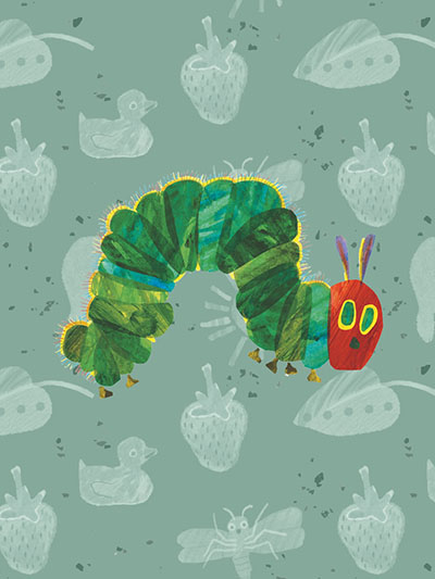The Very Hungry Caterpillar Show (2020) . Illustration by Eric Carle.