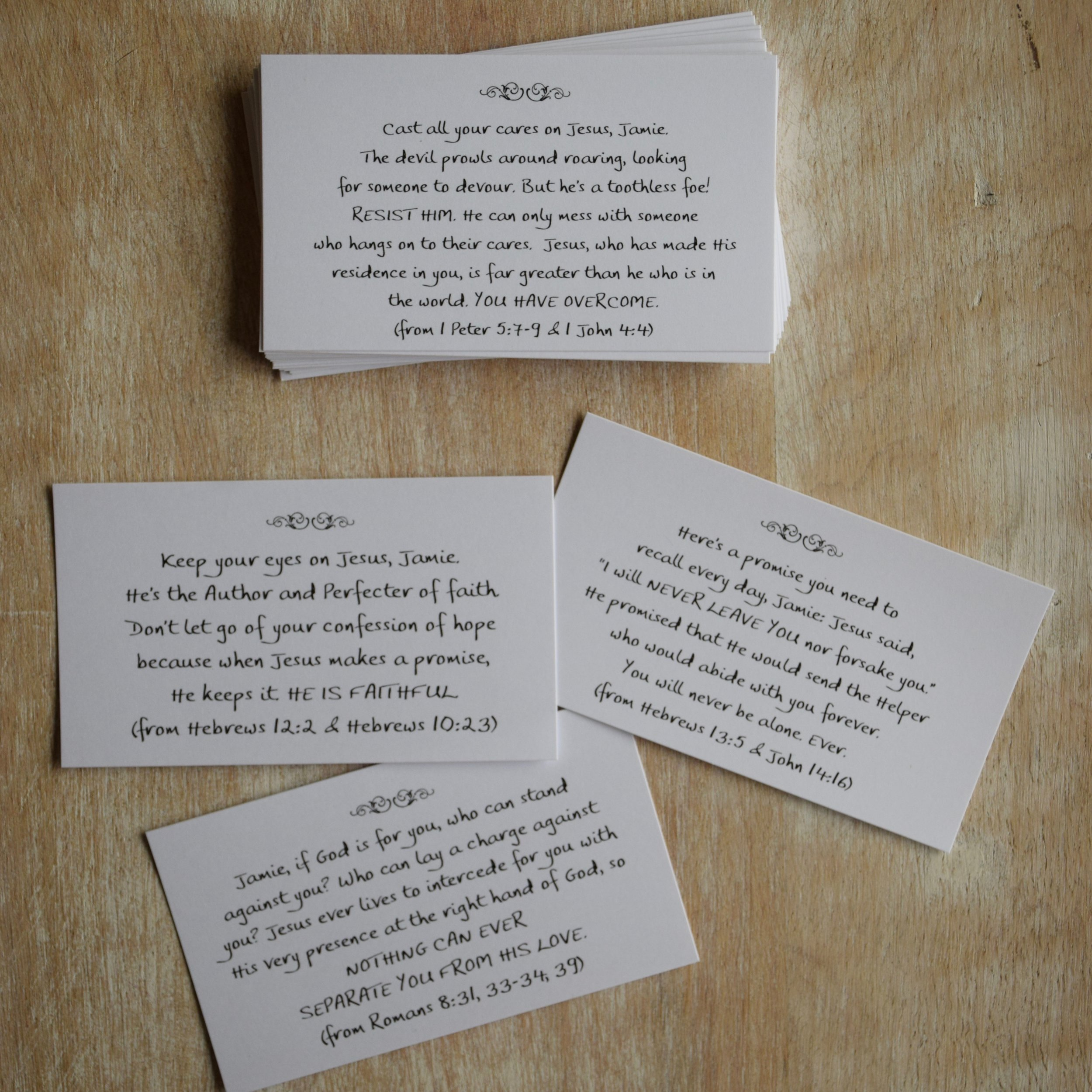 Small set, female, sample cards.jpg