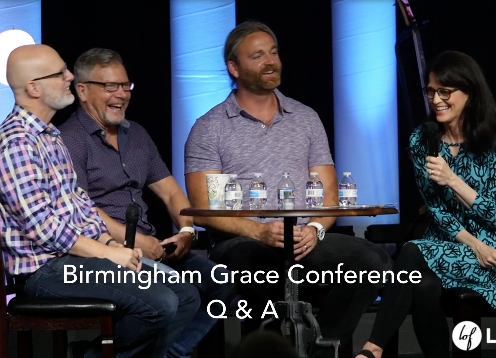 Tricia Gunn  ,   Jeremiah Johnson  ,   Rob Rufus  , and   Mark Machen   answer questions about God's grace at the Birmingham Grace Conference, 2018. Watch  here .