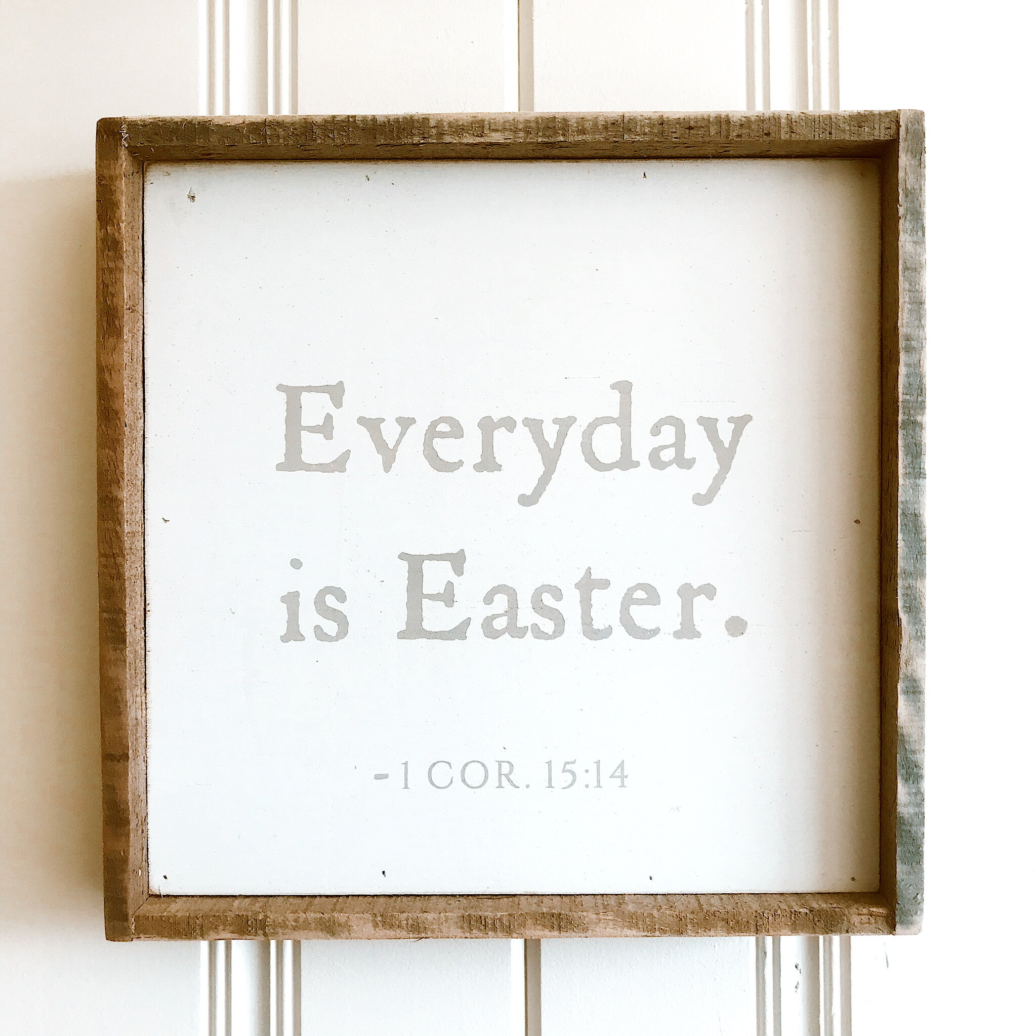 """SALE: $33.60 / Reg: $42.00 - Every Day Is Easter: 14"""" x 14"""""""